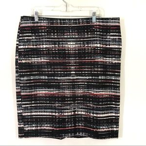 Ann Taylor Multi Pencil Skirt